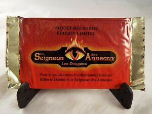 MIDDLE EARTH THE DRAGONS SEALED BOOSTER PACK OF 15 CARDS (French)