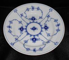 "8"" (20.5cm) Royal Copenhagen Blue Fluted Plain Pattern Plate 178"