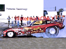 """Jungle Jim"" Liberman 1977 ""Revell"" Chevy Monza NITRO Funny Car PHOTO! #(53)"