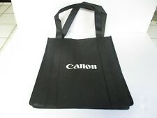 Canon Camera Grocery Reusable Tote Bag Black #848