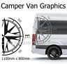 MOTORHOME GRAPHICS STICKERS DECALS CAMPER VAN CARAVAN UNIVERSAL FITTING