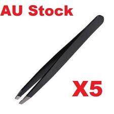 X5 Profession Stainless Steel Eyebrow Tweezer Slant Tip