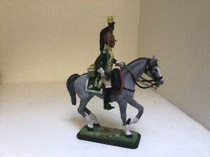 Napoleonic mounted French Dragoon officer. St Petersburg made 54 mm