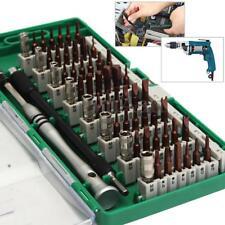 60 in 1 Multi-Bit Tool Steel Precision Screwdriver Nutdriver Bit Repair Set Kit