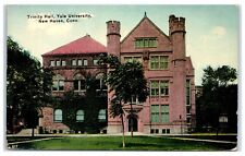 Early 1900s Trinity Hall, Yale University, New Haven, CT Postcard