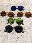Moden New Cat Eye Round Fashion Sunglasses Shades UV400 Retro Vintage style 4222