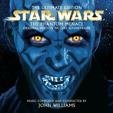 NEW CD Star Wars Episode I The Phantom Menace The Ultimate Edition John Williams