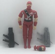 1 Black Major Custom Red Storm Shadow Silver Logo with Extras LAST ONES.