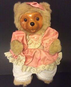 """Robert Raikes Teddy Bear VTG #5457 Penelope 14"""" Applause"""