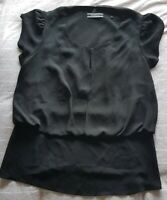 Womens Basque Top Size 12