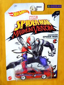 Hot Wheels Spider-man '70 Dodge HEMI Challenger [Venomized]-New/VHTF [E-808]