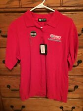 *NWT* NASCAR Red Polo Shirt - Lowes Motor Speedway Charlotte - FREE SHIPPING