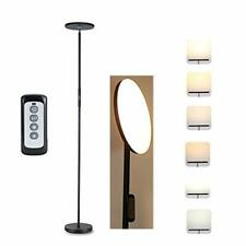 LED Floor Lamp, Torchiere Uplighter Light, 3 Color Temperatures Tall Standing