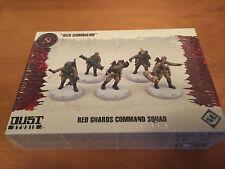 "Dust Studio: Dust Tactics ""Red Command"" Red Guard Command Squad - New"