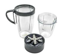 FranzKitchen Cup & Blade Replacement Parts 4 Pack Upgrade Also Fits Nutribullet