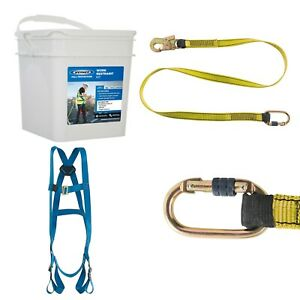 Werner 1 Point Universal Safety Harness Fall Arrest Protection Kit