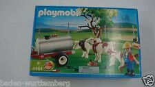 Playmobil 4494 Cow Pasture w/ trailer mint in Box for collectors retired NEW