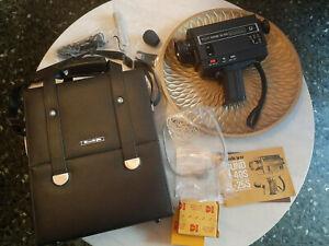 Caméra Super 8 Sankyo Sound XL-25S avec tous ses accessoires et son étui