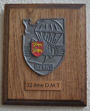 32e Division Militaire Territoriale plaque tape de bouche Caen Normandie
