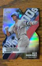 New listing 2020 Topps Chrome Decade of Dominance Die Cut #DOD-13 Alex Rodriguez