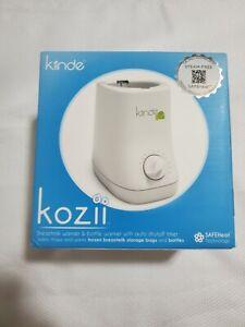 New & Sealed! Kiinde Kozii Baby Bottle Warmer and Breast Milk Warmer - NIB! F14