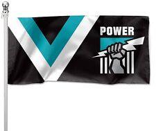 Port Adelaide Power AFL Football Pole Flag Large 90cm by 180cm