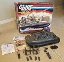 GI JOE Vintage 1984 Killer Whale Hovercraft Hasbro Complete w/ Box & Paperwork