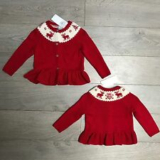 BNWT Gorgeous Baby Girls 18m Ralph Lauren winter cardigan RRP £95 100% Genuine