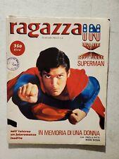Superman RAGAZZA IN #6 *RARE* IT POSTER MAGAZINE Film & Movies