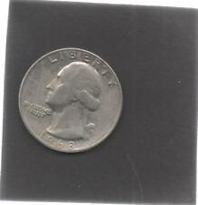 Moneta Stati Uniti United States Quarter Dollar 25 Cent 1968 Washington STU173