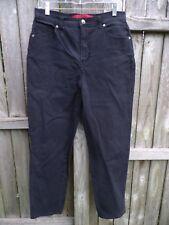 Gloria Vanderbilt Black Jeans Size 12.......................................Z287