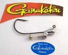 10 pcs 1/8 oz Rattle Tube Jig Head 60° Gamakatsu 4/0 EWG Hook Fishing Lure