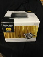 Marcato Atlas Pasta Maker, Stainless Steel, Italian Pasta Machine