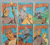 6 Australian Phantom Comics 600's Series Late 1970's