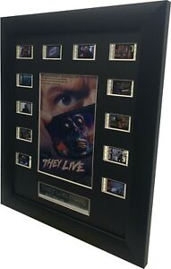 They Live  movie film cell (1988) , Roddy Piper ·