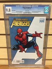The New Avengers #2 ~ Graded CGC 9.8 ~ Stuart Immonen Cover / Spider-Man Variant