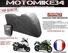 Housse MOTO Couvre scooter  interieur (XL) taille 246cm (qualité garantie)