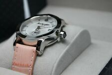 MONTEGRAPPA NERO UNO LADY WATCH STAINLESS STEEL CASE MSRP 830.00