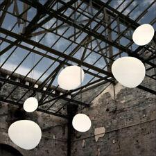 Anomalous Stone Pendant Lamp Milk Glass Pebble Chandelier Pendant Lighting
