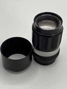 Konica Hexanon 135mm 1:3.5 Objektiv #7340774-71