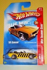 2008 Hot Wheels Web Trading Cars #097 '69 Camaro - Honey Bee - Variant
