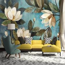 Deep Texture Wallpaper Living Room Bedroom Floral Pattern Lovely Background Arts