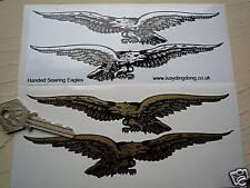 "Soaring eagle Custom Classic moto stickers 6 ""voiture Vélo Paire Moto Guzzi"