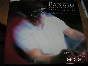 FANGIO Un album Pirelli Stirling Moss E.P.A