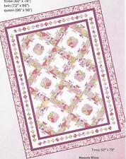 Bird's Nest  quilt pattern by Marjorie Rhine or Quilt Design Northwest