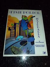 THE FISH POLICE Comic - Hairballs - Graphic book - Date 1987 - Comico Comics