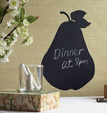 Chalkboard Pear Fruit Chalk Board Walls Removable Kitchen Shopping List Messages