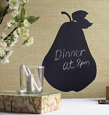 Kitchen Notes Chalkboard Pear Fruit Decor Chalk board Walls Stickers Removable