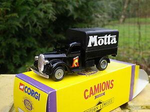 CORGI CAMIONS D'ANTAN FORD CANVAS-BACK MOTTA 1939 NEUF en boite