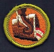 Metallurgy Type G 1965-1971 cloth back Merit Badge 200985